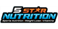 5 Star Nutrition Coupons + 10% cashback