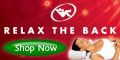 Relax The Back Coupons + 5% cashback