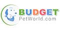 BudgetPetWorld.com Coupons + 10% cashback