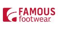 Famous Footwear coupons + extra cash back