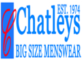 Chatleys Menswear vouchers + 5% cashback