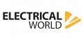 Electrical World vouchers + 2% cashback